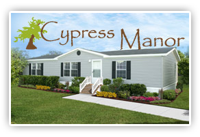 The Cypress Manor series features five popular floor plans packed with several standard features. These homes are also built to the Federal Manufactured Housing Code and range in size from 1,280 sq. ft. to over 2,300 sq. ft.